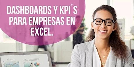 Dashboard´´´s e indicadores clave en Excel para empresas boletos