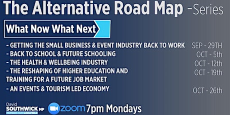 The Alternate Roadmap to Recovery - WNWN tickets