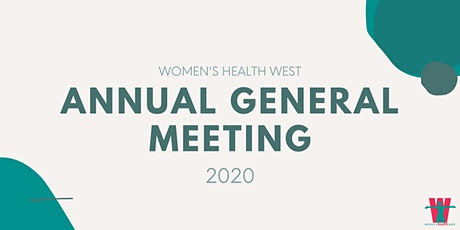 Women's Health West AGM 2020 tickets