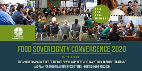 Food Sovereignty Convergence 2020 tickets