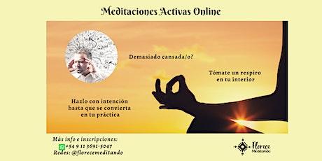 Meditaciones Activas Online tickets