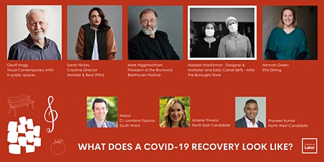 What does a COVID-19 Recovery Look Like for Business, Arts, & Sole Traders? tickets