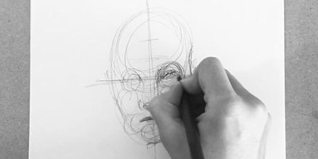 Drink and Draw Online - The Portrait Class tickets