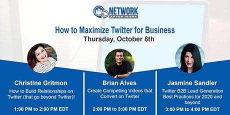 Virtual Summit: How To Maximize Twitter For Business tickets