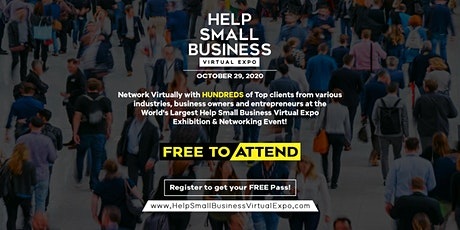 Help Small Business Virtual Expo 2020 tickets