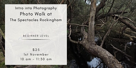 Beginner Photography Lesson at The Spectacles Rockingham tickets