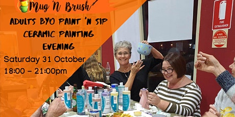 Adults Halloween Painting Party tickets