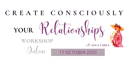 Create Consciously Your Relationships tickets