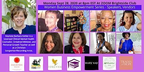 Women Empowerment Business Series September Session tickets
