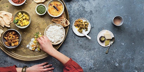 INDIAN STREET FOOD VIRTUAL COOKING CLASS WITH MASTERCHEF'S  DEE WILLIAMS tickets