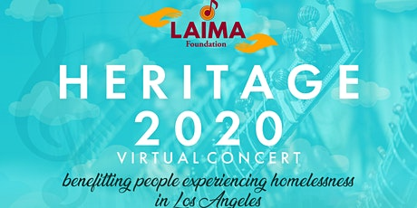 HERITAGE 2020 - Virtual Fundraising Concert tickets
