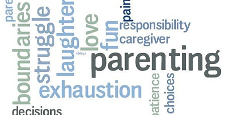 Positive Parent Education 2020 - Tues evenings for 7 weeks starting Oct 6th tickets