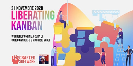 "Workshop Online: ""Liberating Kanban"" con Carlo Gandolfo e Maurizio Vaggi biglietti"