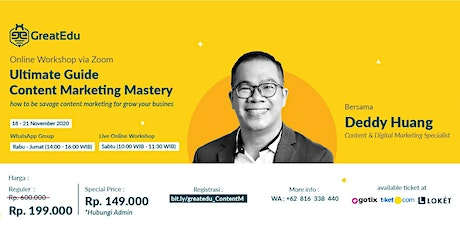 Ultimate Guide Content Marketing Mastery how to be savage content marketing tickets