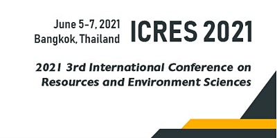 3rd Intl. Confer. on Resources and Environment Sci