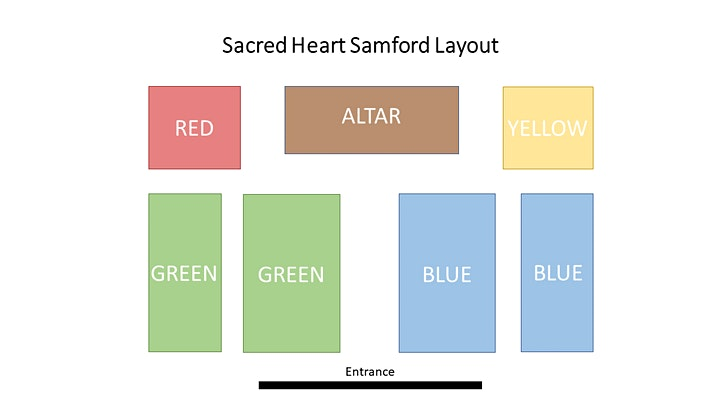 Sacred Heart Samford Sunday Masses at 8:00 AM image
