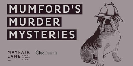 Mumford's Murder Mysteries tickets