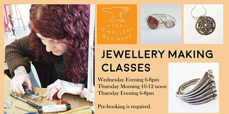 Jewellery Making Classes - Flexible 5 Class Pass tickets
