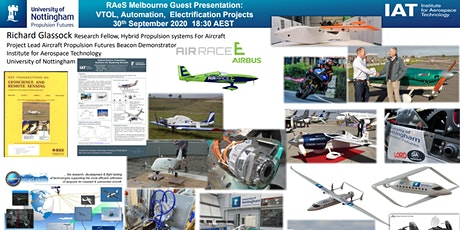 Aircraft Automation, Electrification and Hybrid Propulsion Systems tickets