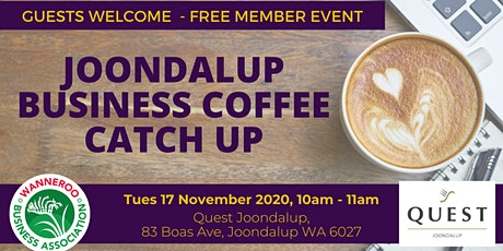 Business Coffee Catch Up Joondalup tickets