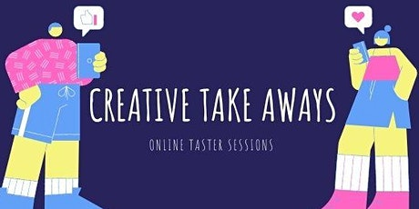 Creative Take Aways - Online Tasters at Home tickets
