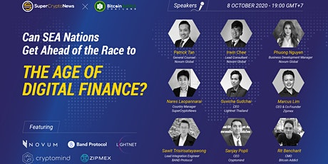 The Age of Digital Finance - Can SEA Nations Get Ahead of the Race? tickets