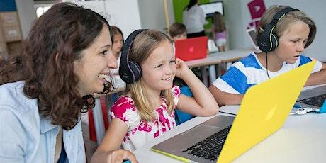 Familien-Workshop: Programmieren mit ScratchJr - Unsere kleine Stadt Tickets