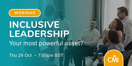 Inclusive Leadership: Your Most Powerful Asset? tickets