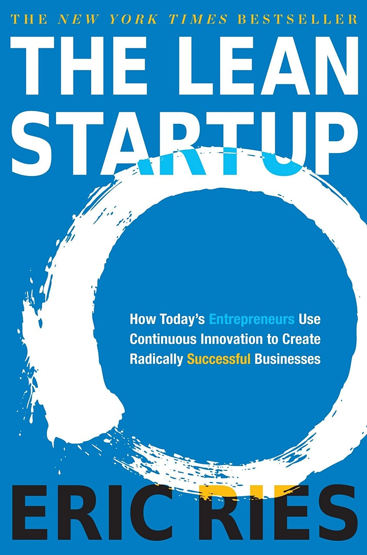 Copy of Book Review & Discussion :  The Lean Startup image