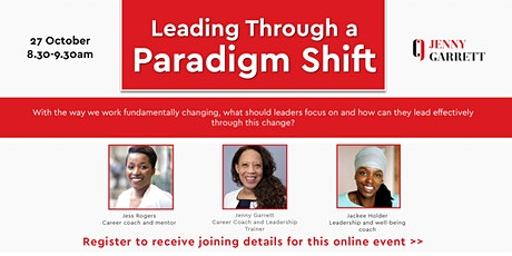 Leading Through a Paradigm Shift tickets