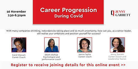 Career Progression During Covid tickets
