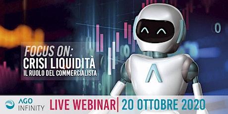 WEBINAR| Virtual AGO DAY - 20 ottobre 2020, ore 15:00 biglietti