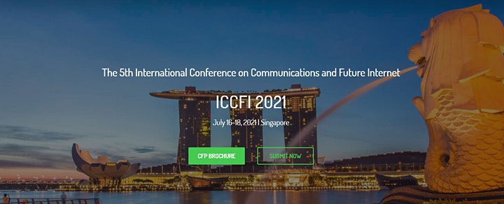 5th Intl. Conf. on Communications and Future Internet (ICCFI 2021) image