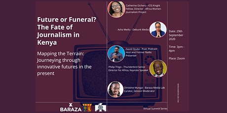The Fate of Journalism in Kenya: Mapping innovative futures in the present. tickets