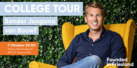 College Tour | Sander Jongsma | Bouw 7 tickets