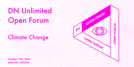 DN Unlimited Open Forum: Climate Change tickets