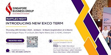 SBG Raffles Night: Introducing New Exco Term tickets