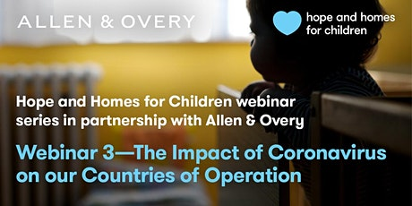 Webinar 03. The Impact of Coronavirus on our Countries of Operation tickets