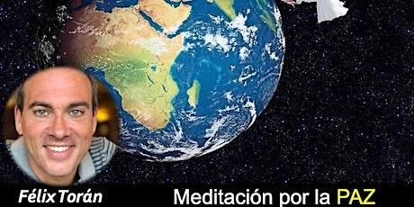 Meditación por la Paz (Zoom) entradas