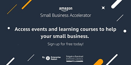 Amazon Small Business Accelerator: Exporting and expanding overseas tickets