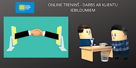 """Spēles """"Iebildumi"""" demo - minitreniņš tickets"""