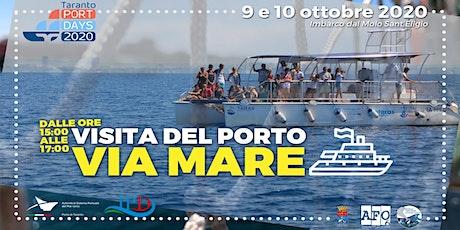 Visita del porto via mare - TARAS biglietti