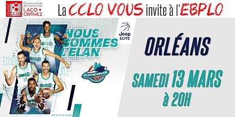 CCLO - EBPLO vs ORLÉANS - 13/03/21 billets