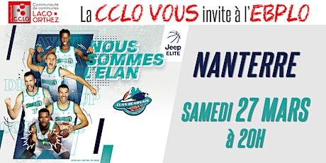 CCLO - EBPLO vs NANTERRE - 27/03/21 billets