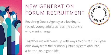 New Generation Forum Recruitment Event tickets