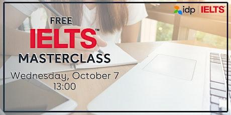 Ücretsiz IELTS Eğitimi: IELTS Masterclass tickets