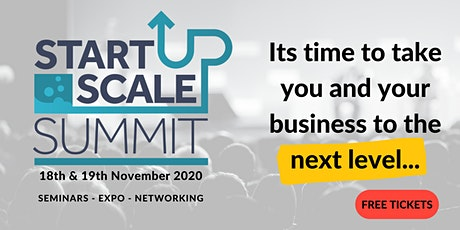 STARTUP>SCALEUP SUMMIT tickets
