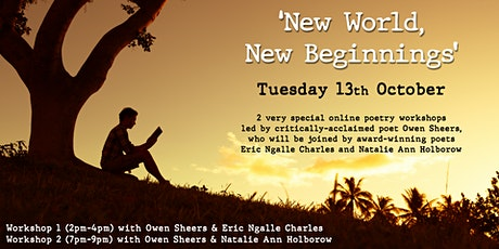 New World, New Beginnings  - Workshop 1: Owen Sheers & Eric Ngalle Charles tickets