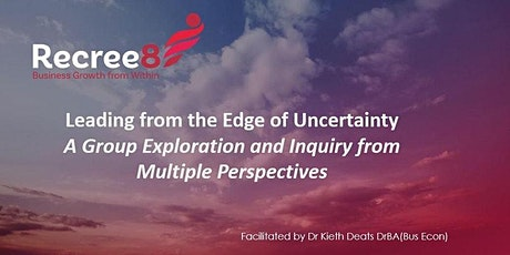 Leading From The Edge Of Uncertainty tickets