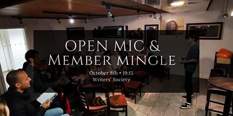 Open Mic & Member Mingle tickets
